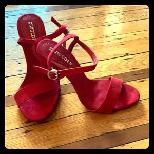 H&M red heels size 37